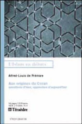 Couverture Aux origines du Coran
