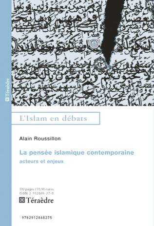 Couverture Pensée islamique contemporaine