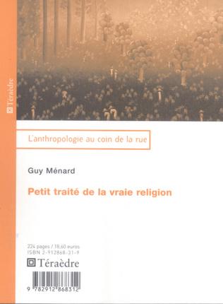 Couverture Petit traité de la vraie religion