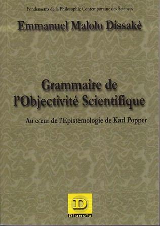 Couverture Grammaire de l'objectivité scientifique