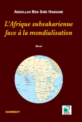 Couverture L'Afrique subsaharienne face à mondialisation
