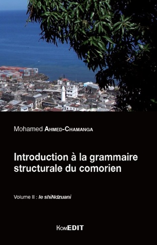 Couverture Introduction à la grammaire structurale du comorien