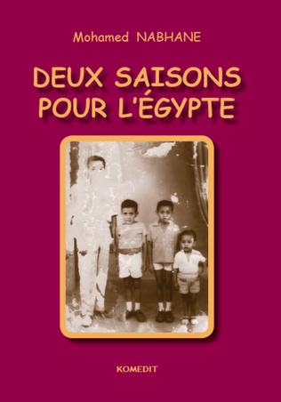 Couverture Deux saisons pour l'Egypte