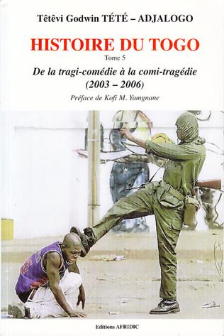 Couverture Histoire du Togo (Tome 5)