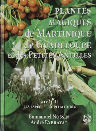 Couverture Plantes magiques de la Martinique Guadeloupe et des Petites Antilles