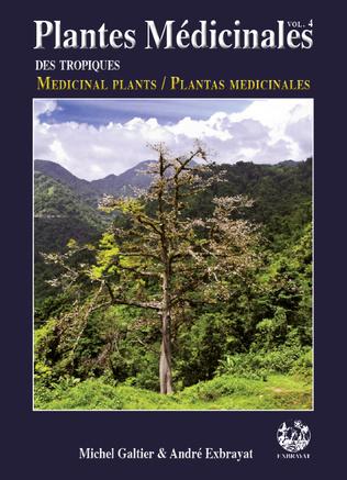 Couverture Plantes Médicinales des tropiques vol 4