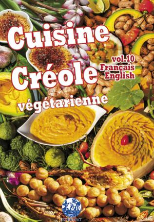 Couverture Cuisine Créole végétarienne vol. 10