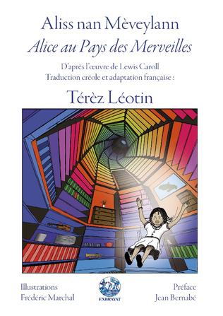 Couverture Alice au Pays des Merveilles d'après l'oeuvre de Lewis Caroll