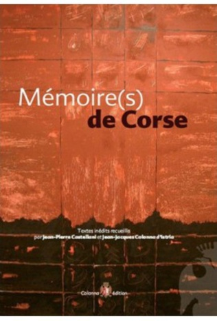 Couverture Mémoire(s) de Corse