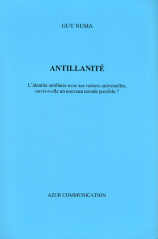 Couverture Antillanité
