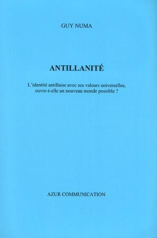 Couverture Antillanité