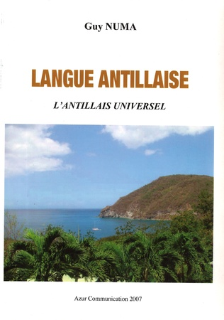 Couverture Langue antillaise