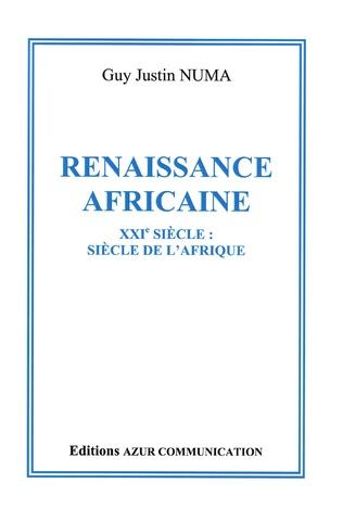 Couverture Renaissance africaine