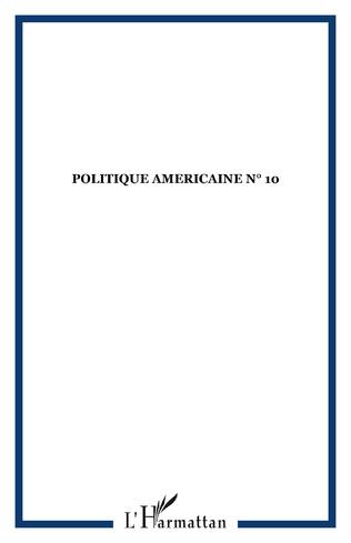 Couverture POLITIQUE AMERICAINE N° 10