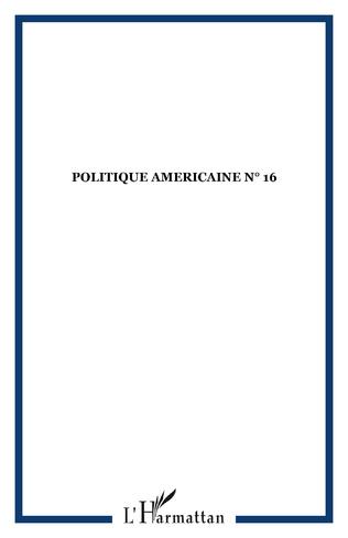 Couverture POLITIQUE AMERICAINE N° 16