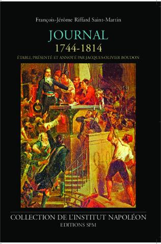 Couverture Journal de François-Jérôme Riffard Saint-Martin