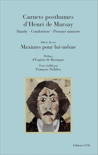 Couverture Carnets posthumes d'Henri de Marsay