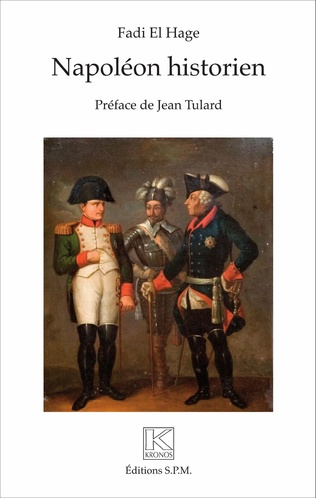 Couverture Napoléon historien