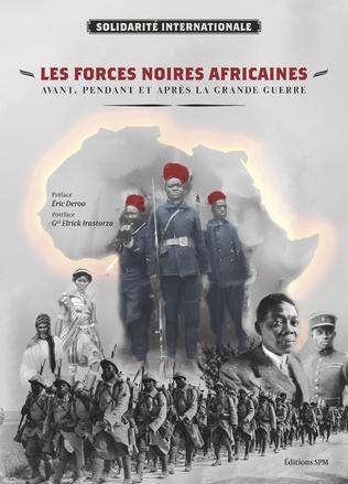 Couverture Les forces noires africaines
