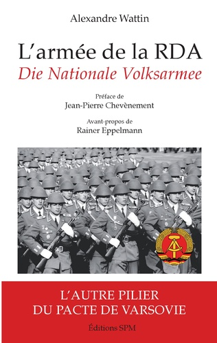 Couverture L'armée de la RDA