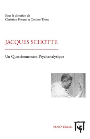 Couverture Jacques Schotte