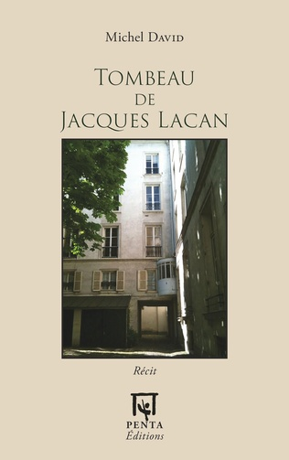 Couverture Tombeau de Jacques Lacan