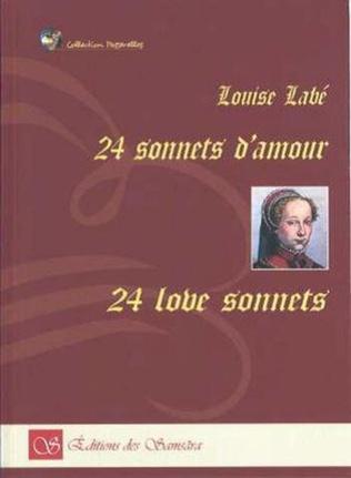 Couverture 24 Sonnets d'amour