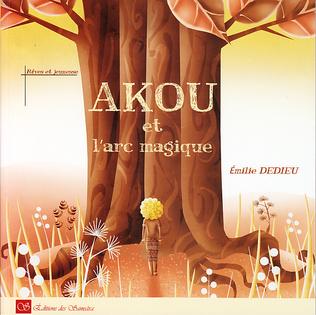 Couverture Akou et l'arc magique