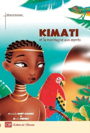 Couverture Kimati et la montagne aux esprits