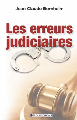 Couverture Les erreurs judiciaires