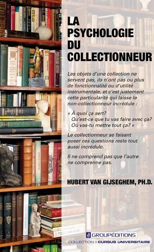 Couverture La psychologie du collectionneur