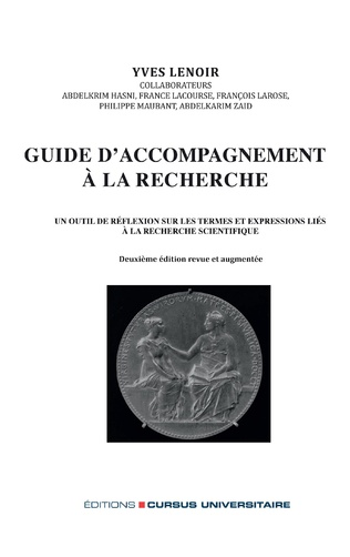 Couverture Guide d'accompagnement à la recherche