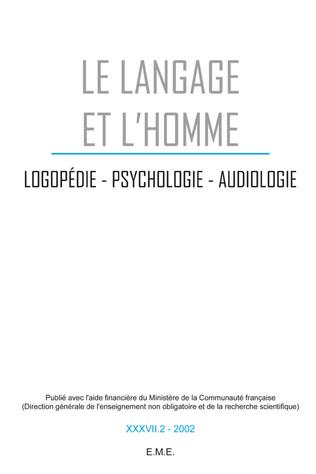 Couverture Logopédie, psychologie, audiologie