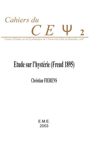 Couverture Etude sur l'hystérie (Freud 1895)
