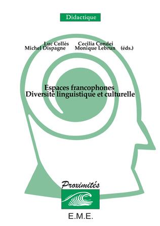 Couverture Espaces francophones