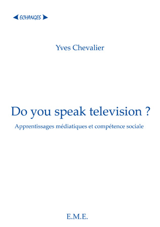 Couverture Do you speak television ?