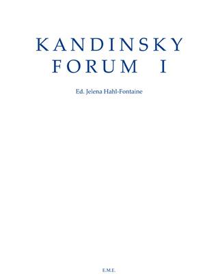 Couverture Kandinsky Forum I