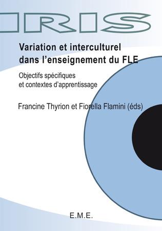 Couverture Variations et interculturel dans l'enseignement du FLE
