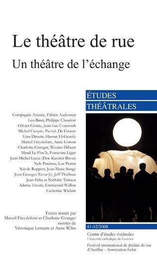 Couverture Le théâtre de rue