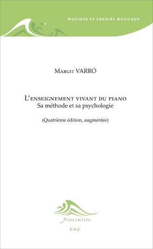 Couverture L'enseignement vivant du piano (4e édition)