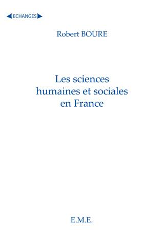 Couverture Les sciences humaines et sociales en France