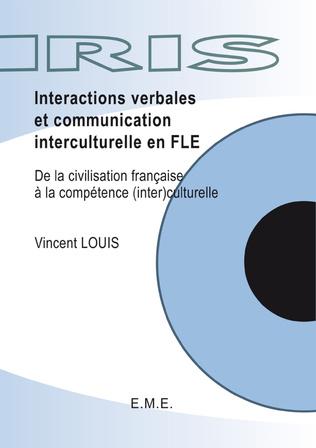 Couverture Interactions verbales et communication interculturelle en FLE