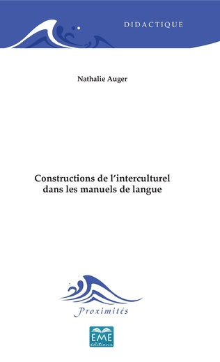 Couverture Constructions de l'interculturel dans les manuels de langue