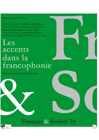 Couverture Les accents dans la francophonie