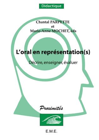 Couverture L'oral en représentation(s)