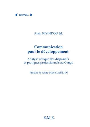 Couverture La communication pour le développement