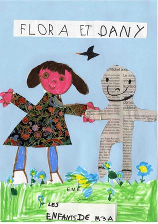 Couverture Flora et Dany