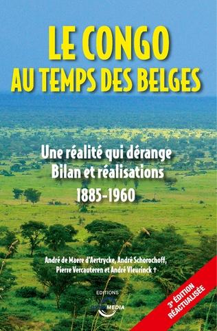 Couverture Le Congo au temps des Belges
