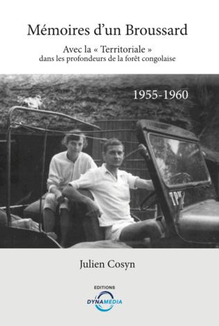 Couverture Mémoires d'un Broussard