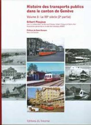 Couverture Histoire des transports publics dans le canton de Genève